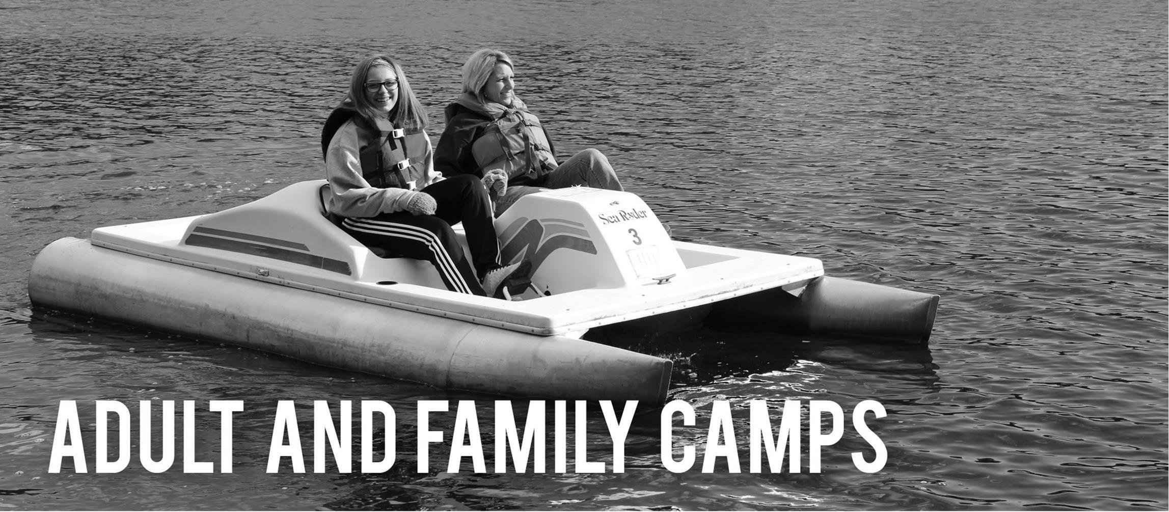 Find out more info on our Adult/Family Camps