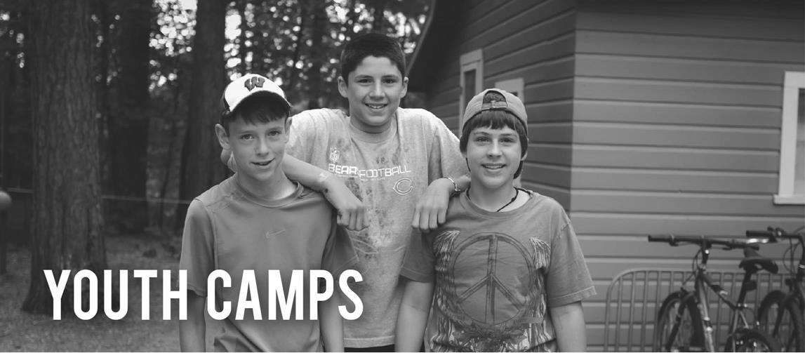 Find out more info on our Youth Camps